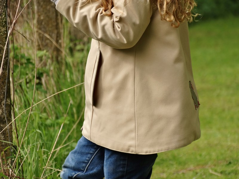 Spring time with Agatha, façon Trench-Coat - Viguialca